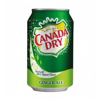 Canada Dry Ginger Ale dobozos (0,33l)