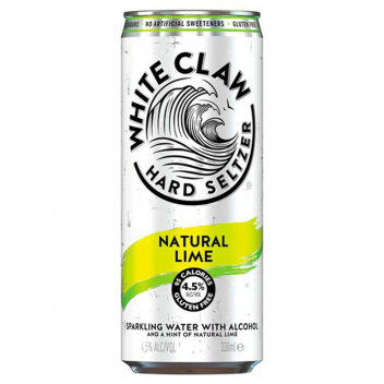 White Claw Natural Lime (0,33l, 4,5%)