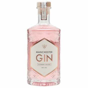 Gin Manchester Raspberry Infused (0,5l, 40%)