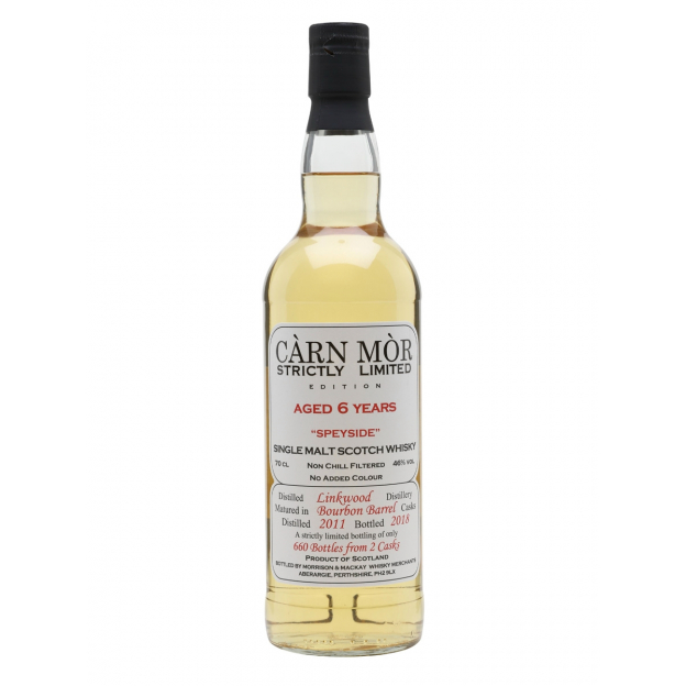 Linkwood 2011, 6 éves Carn Mor Strictly Limited (0,7 l, 46%)